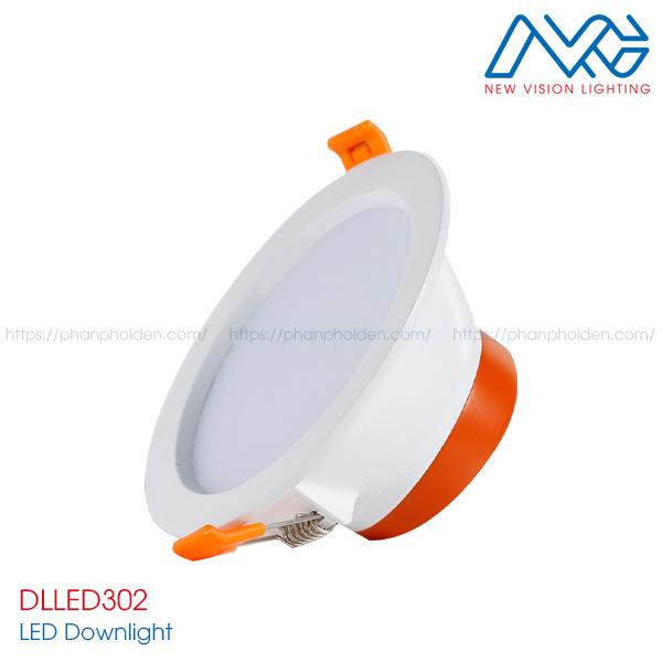 Đèn LED downlights âm trần DLLED302