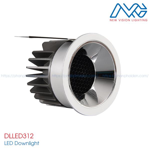 Đèn LED downlights âm trần DLLED312
