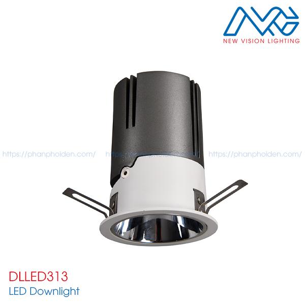 Đèn LED downlights âm trần DLLED313