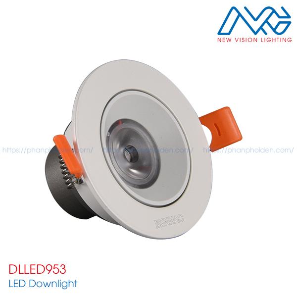 Đèn LED downlights âm trần DLLED953