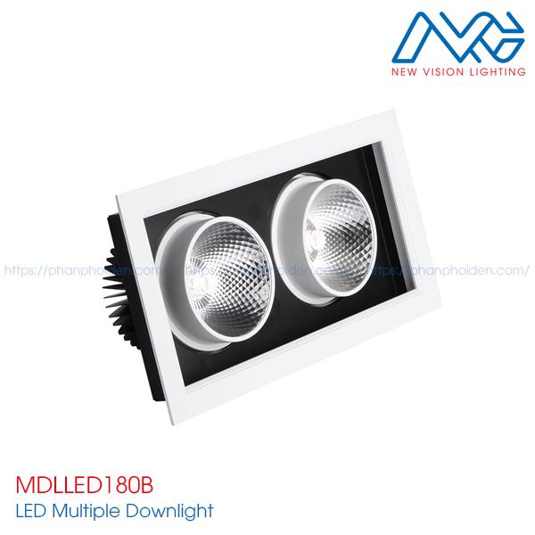 Đèn LED multiple downlight MDLLED180B