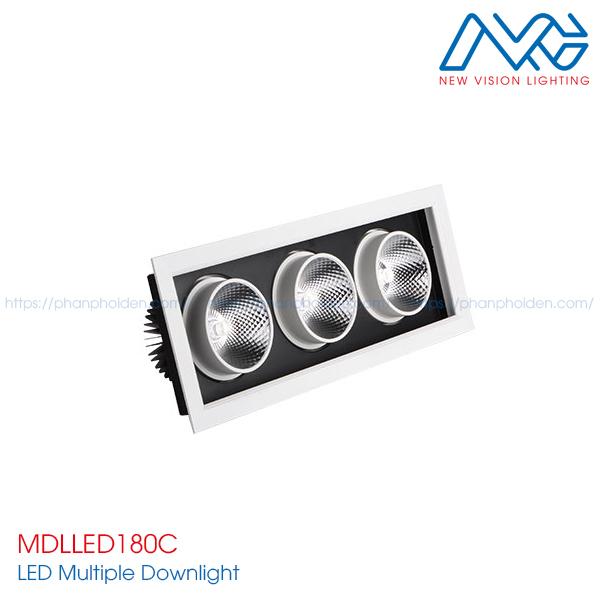 Đèn LED multiple downlight MDLLED180C
